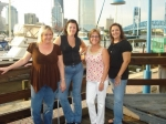Pam Langlois, Lisa Bridenback Whipple, Samantha Morgan Lockard & Jana Secia Jolly