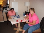 Heather Gillean & Tracey Dealy Scott coloring registration posters